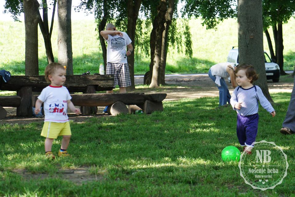 Moj Adrian i mali Mihovil u akciji