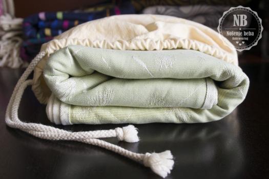 BabyMonkey Dandelion u novom pakiranju: vrećici od tkanog talijanskog pamuka.
