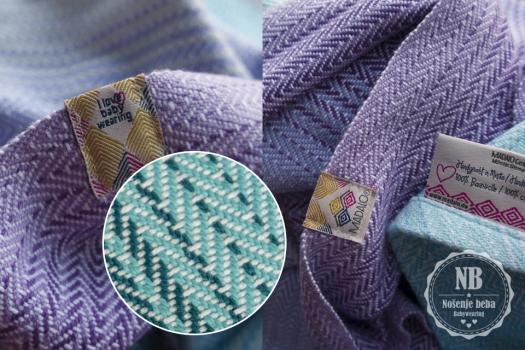 Madalo koristi dvostruko deblje niti i ima dvostruko krupnije tkanje u odnosu na druge proizvođače ručno tkanih marama.