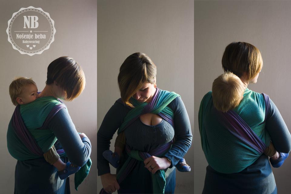 """Erin Verde se odlično ponaša u višeslojnim vezovima. Na fotografiji je u vezu """"Christina's Ruckless""""."""