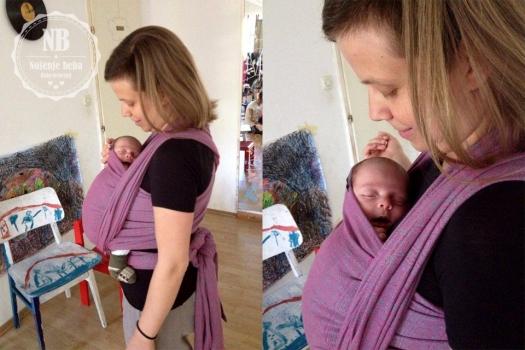 Didyos Indio Platinum Pink odličan je izbor za novorođenčad.