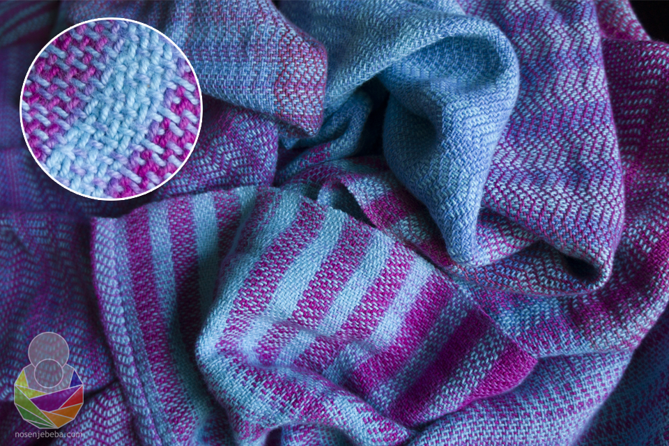 Prva ručno tkana moderna marama za nošenje iz regije