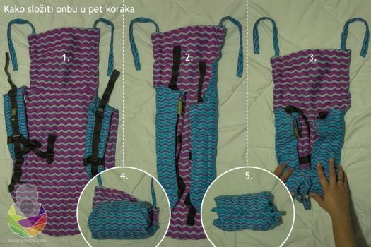 Fotouputa: Kako složiti onbu da stane u svaku torbu.