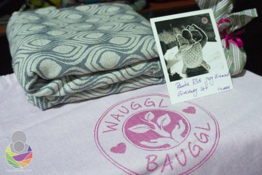 Wauggl Bauggl Panta Rhei Grey Diamond stigao je zapakiran kao poklon u tkanoj vrećici s istaknim logotipom branda.