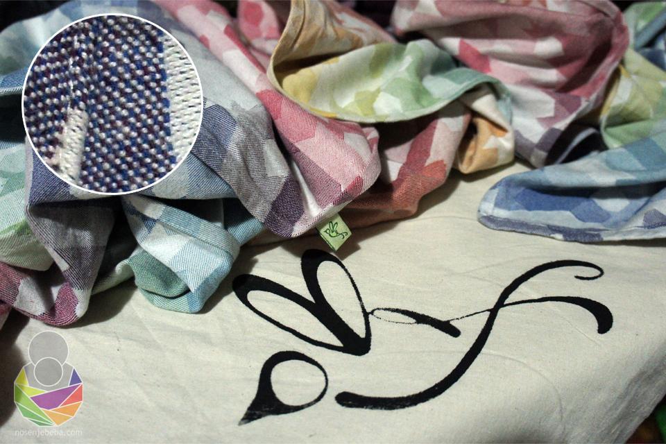 Ankalia Nevaeh ima vrlo gusto, neprozračno, glatko i plošno keperno tkanje.